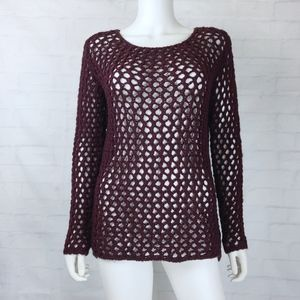 Topshop Open Knit Sweater